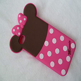 DIA MINNIE MOUSE SILICONE CASE COVER FOR APPLE IPHONE 5 5G 5S Mobile phones