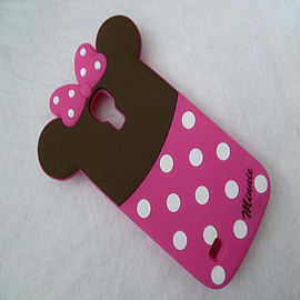 DIA MINNIE MOUSE SILICONE CASE COVER FOR SAMSUNG GALAXY S4 MINI I9190 Mobile phones