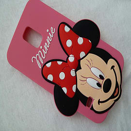 DIA MINNIE MOUSE SERIES 3 BIG FACE SILICONE CASE COVER FOR SAMSUNG GALAXY S5 SM-G900H Mobile phones
