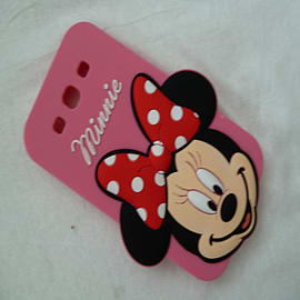DIA MINNIE MOUSE SERIES 3 BIG FACE SILICONE CASE COVER FOR SAMSUNG GALAXY S3 I9300 Mobile phones