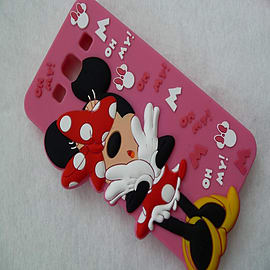 DIA MINNIE MOUSE SERIES 4 STANDING SILICONE CASE COVER FOR SAMSUNG GALAXY S3 I9300 Mobile phones