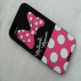 DIA MINNIE MOUSE TAIL SILICONE CASE COVER FOR IPHONE 4 4G 4S Mobile phones
