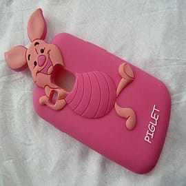 DIA DISNEY PIGLET SOFT SILICONE CASE FOR SAMSUNG GALAXY S3 MINI I8190 Mobile phones