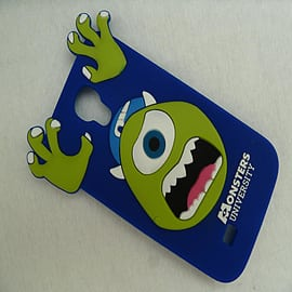 DIA ROYAL BLUE MIKE MONSTERS INC SILICONE CASE COVER FOR SAMSUNG GALAXY S4 I9500 Mobile phones