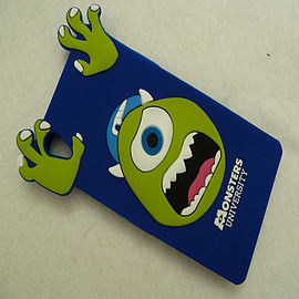 DIA ROYAL BLUE MIKE MONSTERS INC SILICONE CASE COVER FOR SONY XPERIA Z1 L39H Mobile phones