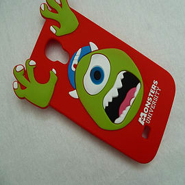 DIA RED MIKE MONSTERS INC SILICONE CASE COVER FOR SAMSUNG GALAXY S4 I9500 Mobile phones