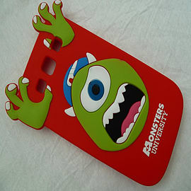 DIA RED MIKE MONSTERS INC SILICONE CASE COVER FOR SAMSUNG GALAXY S3 I9300 Mobile phones