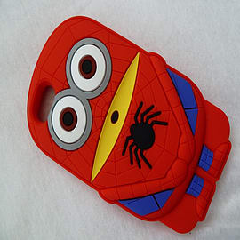 DIA SPIDERMAN MINION SUPERHERO SILICONE CASE COVER FOR IPHONE 5 5G 5S Mobile phones