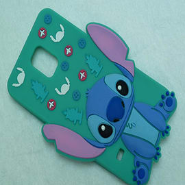 DIA DISNEY STITCH STANDING SERIES 4 SILICONE CASE COVER FOR SAMSUNG GALAXY S5 G900H Mobile phones