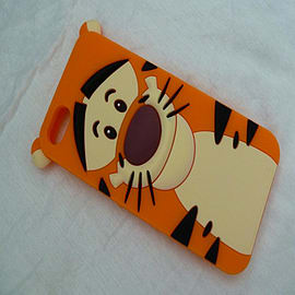 TIGGER SILICONE CASE FOR IPHONE 4 4G 4S Mobile phones