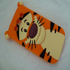 TIGGER SILICONE CASE FOR SAMSUNG GALAXY S3 I9300 Mobile phones