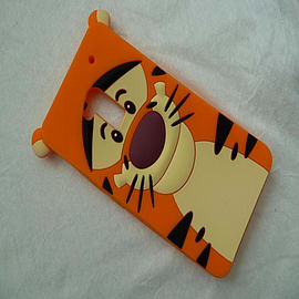 DIA TIGGER FACE SILICONE CASE COVER FOR LG G2 Mobile phones