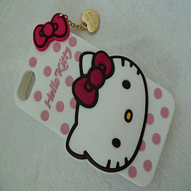 DIA White Hello Kitty Soft Silicone Phone Case Cover for iPhone 5 5g 5s Mobile phones