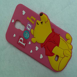 DIA DISNEY WINNIE THE POOH STANDING SERIES 4 SILICONE CASE COVER FOR SAMSUNG GALAXY S4 I9500 Mobile phones