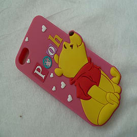 DIA WINNIE THE POOH SERIES 4 STANDING SILICONE CASE COVER FOR IPHONE 5 5G 5S Mobile phones