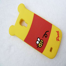 DIA WINNIE THE POOH SILICONE CASE COVER FOR SAMSUNG GALAXY S4 MINI I9190 Mobile phones