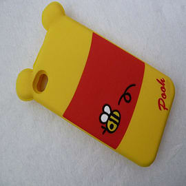 DIA WINNIE THE POOH SILICONE CASE COVER FOR APPLE IPHONE 4 4G 4S Mobile phones