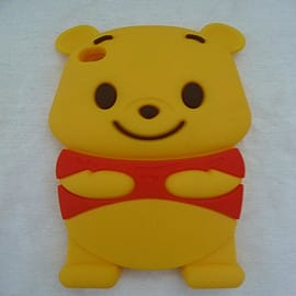 DISNEY WINNIE THE POOH SILICONE CASE FOR IPOD TOUCH 4 4G 4TH GEN Audio