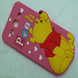 DIA WINNIE THE POOH SERIES 4 STANDING SILICONE CASE COVER FOR SAMSUNG GALAXY S3 I9300 Mobile phones