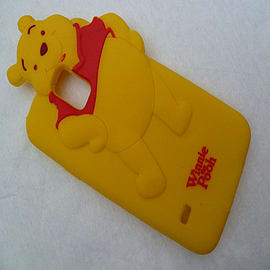 DIA WINNIE THE POOH SILICONE CASE COVER FOR SAMSUNG GALAXY S5 G900H Mobile phones