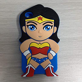SUPERHEROS WONDER WOMAN SILICONE CASE COVER FOR IPHONE 5 5S Mobile phones