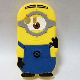 Minion Minions Soft Silicone Phone Case Cover for Samsung Galaxy Y S5360 One Eye Mobile phones