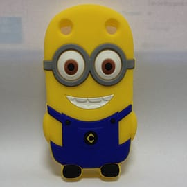 Minion Minions Soft Silicone Case Cover for Blackberry Curve 9220 9320 Two Eyes Mobile phones