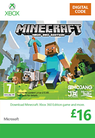 Minecraft: Xbox 360 Edition Xbox Live Cover Art