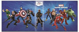 Disney Infinity 2.0 Power Disc Portfolio Accessories