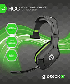Gioteck HCC Mono Headset For Xbox 360 Accessories