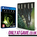 Alien: Isolation Ripley Edition with Alien Creep Wooden Wall Art - Only at GAME.co.uk PlayStation 4