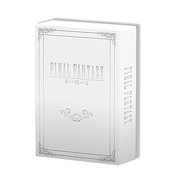 Final Fantasy Strategy Guide Box Set (VII, VIII & IX) Strategy Guides and Books