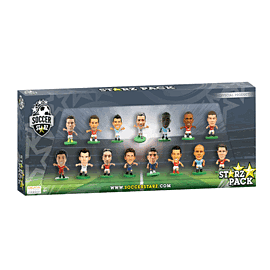 SoccerStarz GAME Exclusive pack of 15 Toys and Gadgets