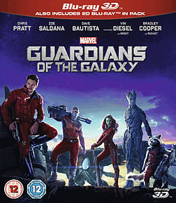 Guardians Of The Galaxy 3D 3D Blu-Ray