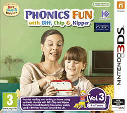 Phonics Fun with Biff, Chip and Kipper Vol 3 3DS