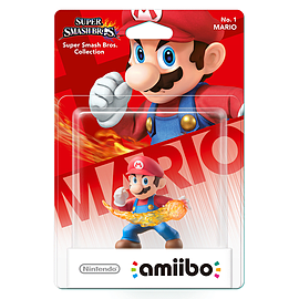 Mario - amiibo - Super Smash Bros Collection Toys and Gadgets