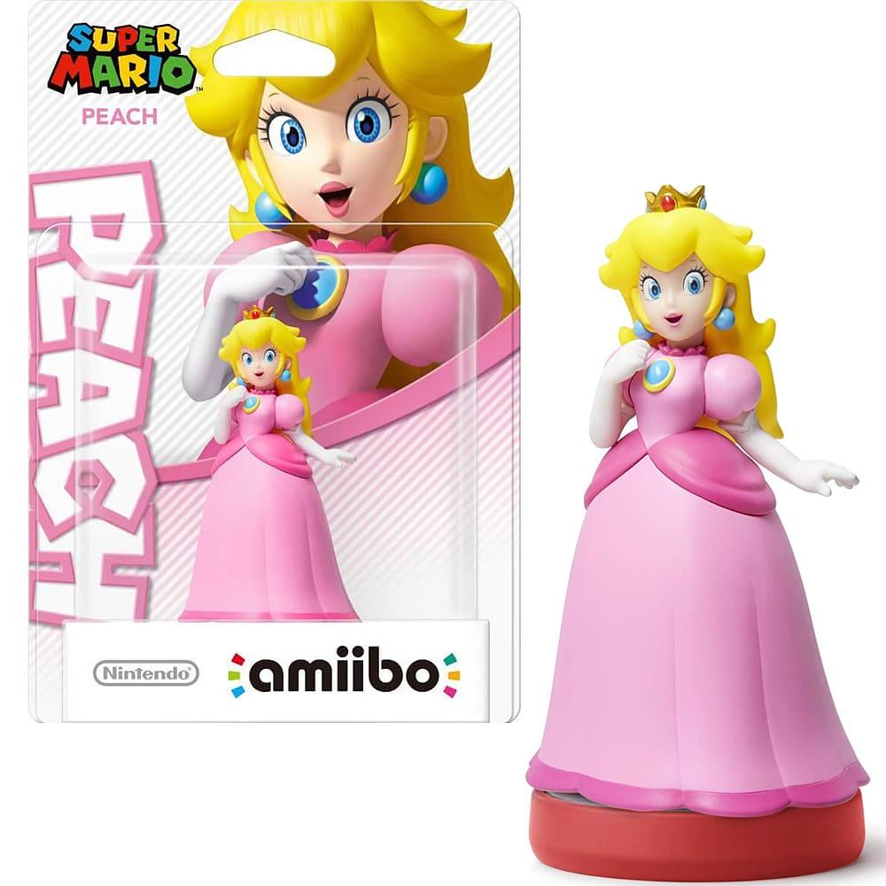 Peach amiibo