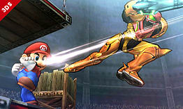Samus - amiibo - Super Smash Bros Collection screen shot 1