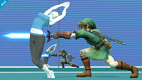 Wii Fit Trainer - amiibo - Super Smash Bros Collection screen shot 2