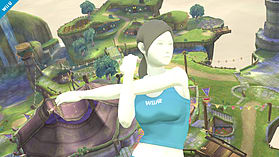 Wii Fit Trainer - amiibo - Super Smash Bros Collection screen shot 3