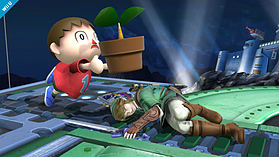 Villager - amiibo - Super Smash Bros Collection screen shot 1