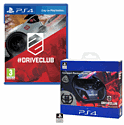 DriveClub With Compact Racing Wheel - Only At GAME PlayStation 4