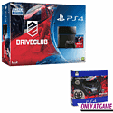 PlayStation 4 With DriveClub And Compact Racing Wheel - Only At GAME PlayStation 4