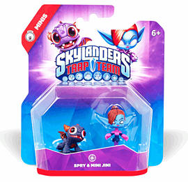 Skylanders Trap Team Minis Double Pack - Spry and Mini Jini Toys and Gadgets