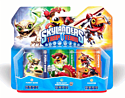 Skylanders Trap Team Triple Character Pack - Chopper, Funny Bone and Shroomboom Toys and Gadgets