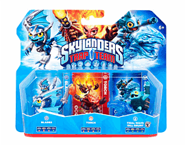 Skylanders Trap Team Triple Character Pack - Blades, Gill Grunt and Torch Toys and Gadgets