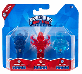 Skylanders Trap Team Triple Trap Pack - Air, Undead, Fire Toys and Gadgets
