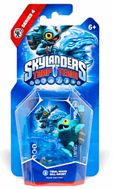 Tidal Wave Gill Grunt - Skylanders Trap Team - Single Character Toys and Gadgets