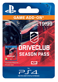 DriveClub Season Pass PlayStation Network Cover Art