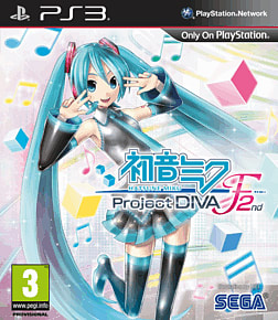 Hatsune Miku: Project DIVA F 2nd PlayStation 3